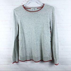 Boden Eva Woven Mix Polkadot Sweater  K0034